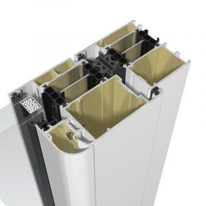 Sicherheitstür Aluminium Haustür Profil