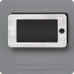 Sicherheitstür Aluminium Haustür mit Türspion