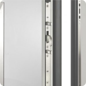 Sicherheitstür Aluminium Haustür mit mehrfach Verriegelung