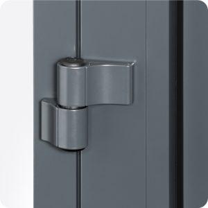 Sicherheitstür Aluminium Haustür mit stabilen Bändern