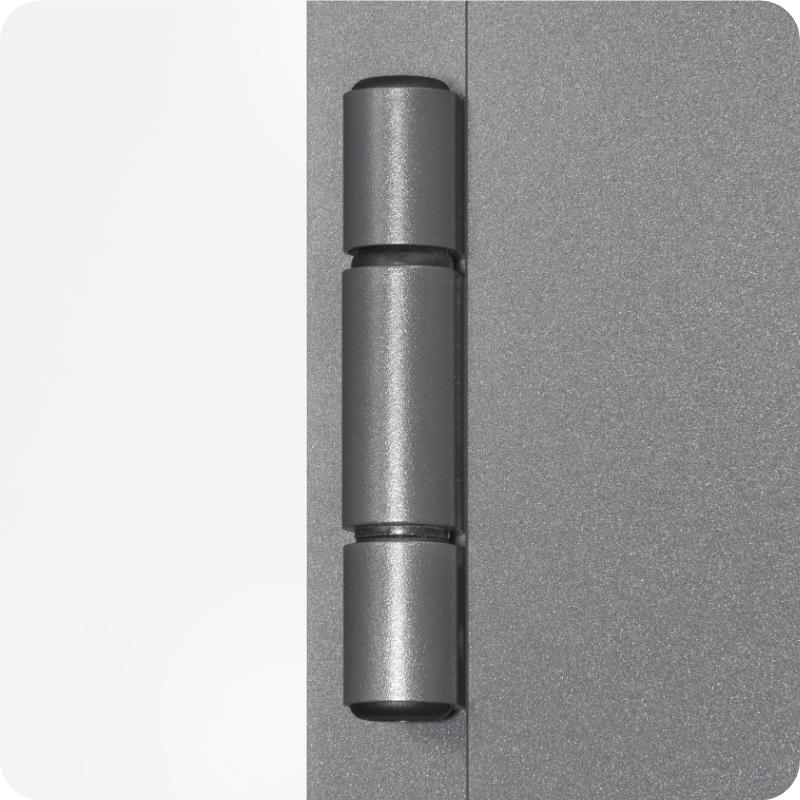 Sicherheitstür Aluminium Haustürmit stabilen Bändern