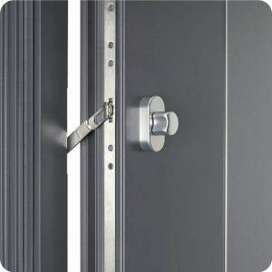 Sicherheitstür Aluminium Haustür mit Sperrbügel