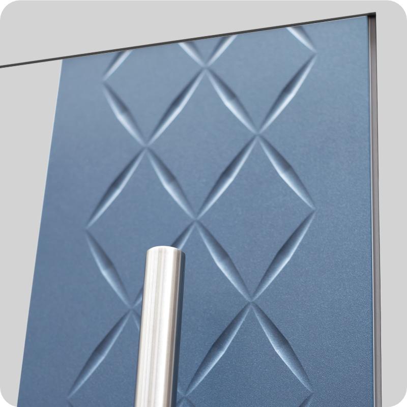 Sicherheitstür Aluminium Haustür mit Struktur