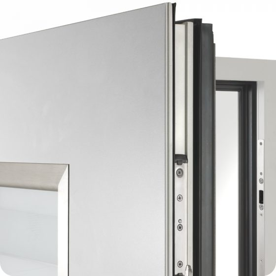 Sicherheitstür Aluminium Haustür Türblatt