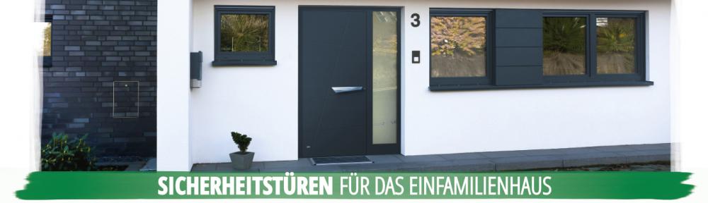 Haustüren - Sicherheitstüren für das Einfamilienhaus